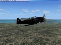 Screenshot of Northrop P-61B Black Widow in flight.