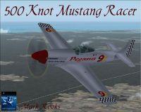 Screenshot of Pegasus Racer in flight.