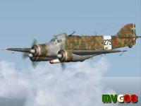 Screenshot of Savoia Marchetti SM.79 Sparviero in flight.