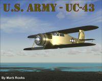 Screenshot of U.S. Army UC-43 in flight.