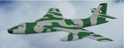 Screenshot of camo Vickers Valiant in the air.