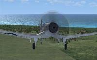 Screenshot of Ciel F4U-7 in flight.