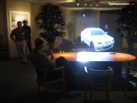 3D projection of a car.