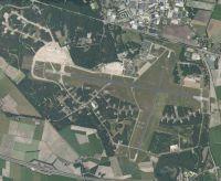 Aerial view of Gilze-Rijen Airbase.