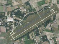 Aerial view of Volkel Airbase.