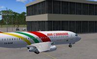 Screenshot of Beira International Airport scenery.