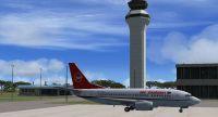 Screenshot of Lilongwe International Airport.