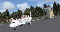 Fez - Saiss International Airport scenery.