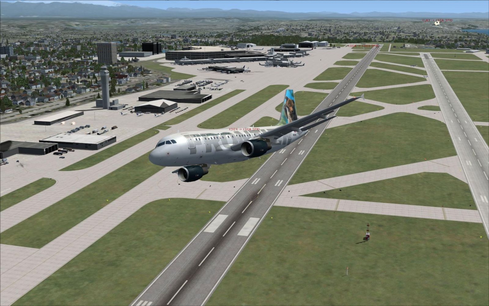 Afcad File For Ksea Updated For Fsx