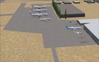 Screenshot of Tontouta Airport, Noumea.