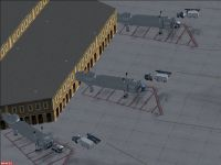Screenshot of Queen Alia International Airport.