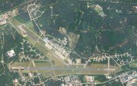 Aerial view of Soesterberg Airbase.