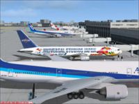 Screenshot of Fukuoka Airport.