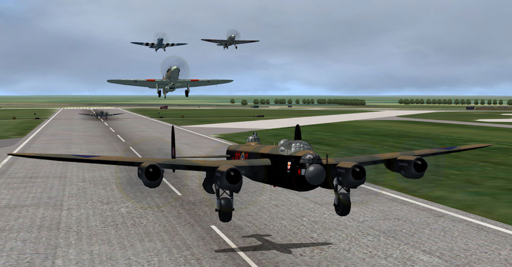 AI Aircraft--ACG Historic AI Pack 1 for FSX