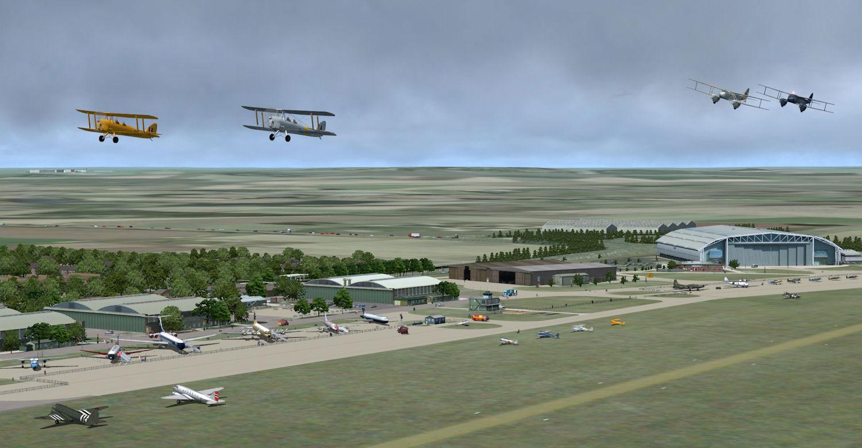 AI Aircraft--ACG Historic AI Pack 4 for FSX
