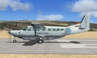Side view of Air Baguio Cessna 208B Grand Caravan.