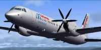 Screenshot of Air Europa Express BAe ATP EC-GSG in flight.