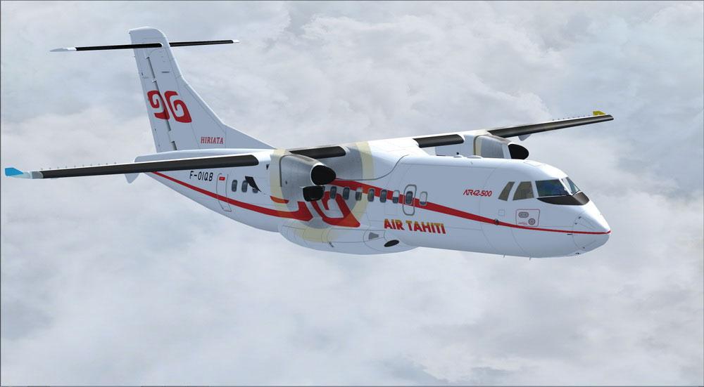 Air Tahiti Atr 42 500 For Fsx
