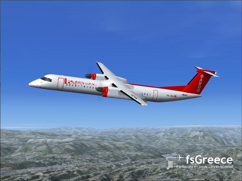 Baboo Bombardier Dash 8-Q400 for FSX