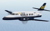 Screenshot of Blueislands Jetstream 31 in flight.