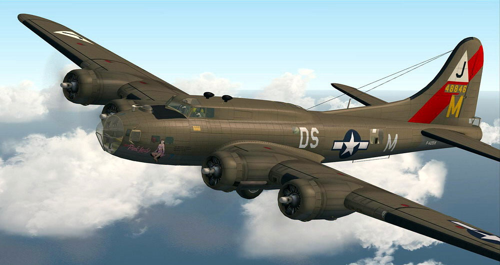 Boeing B-17 Flying Fortress for FSX