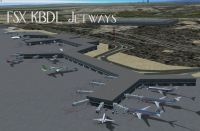 Screenshot of Bradley International Airport.