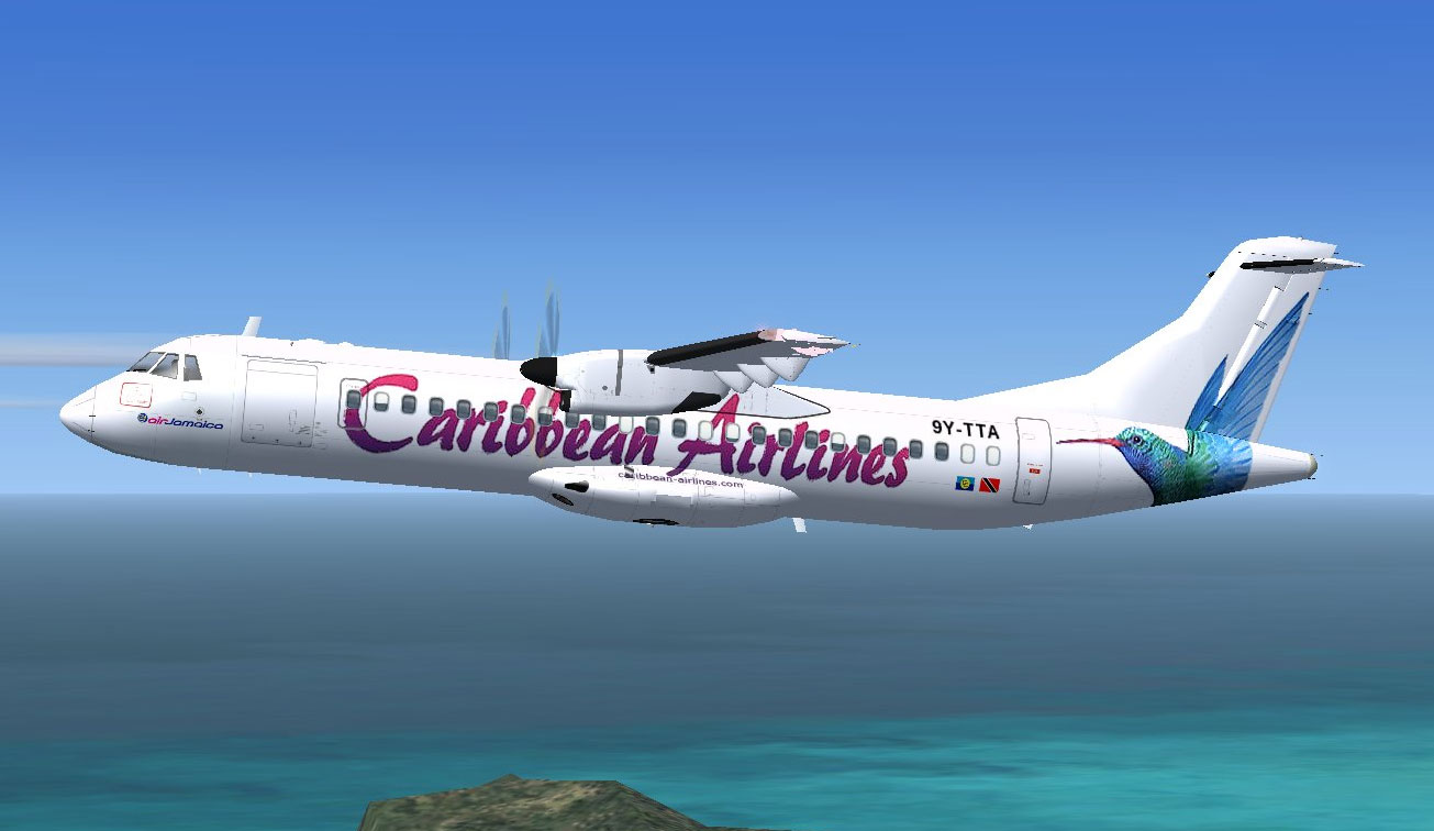 Caribbean Airlines ATR 72-500 for FSX