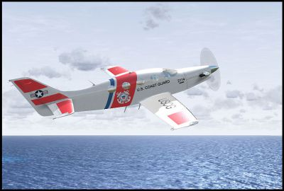 Screenshot of Coast Guard Epic LT in flight.