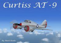 Screenshot of Curtiss AT-9 in flight.
