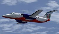 Screenshot of Dominican Connection Embraer E-120 in flight.