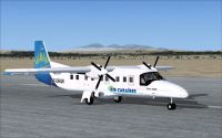 Screenshot of Dornier Do228 on runway.