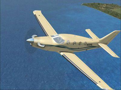 Screenshot of Epic LT N004L in flight.