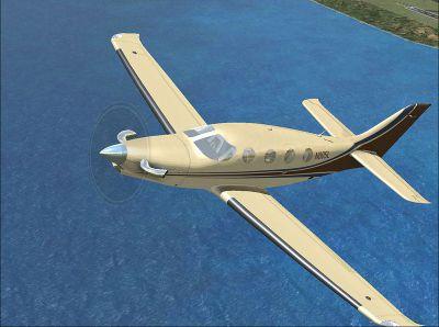 Screenshot of Epic LT N005L in flight.
