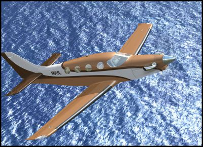 Screenshot of Epic LT N015L in flight.
