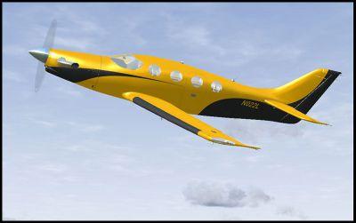 Screenshot of Epic LT N022L in the air.