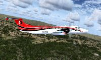Screenshot of Era Alaska Beechcraft 1900C in flight.