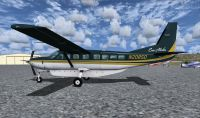 Screenshot of Era Alaska Cessna 208B Grand Caravan on the ground.