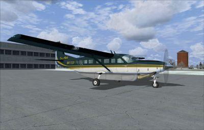 Screenshot of Era Alaska Cessna C208 Caravan on the ground.
