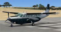 Screenshot of Executive Cessna C208B on runway.