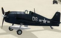 Screenshot of F6F Hellcat D6.