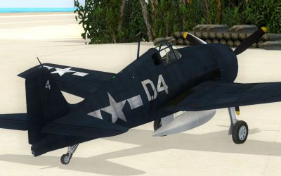 Screenshot of F6F Hellcat D4.