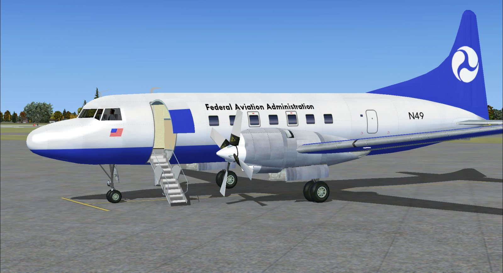 faa convair 580 for fsx
