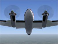 Screenshot of Beechcraft King Air Propellers.