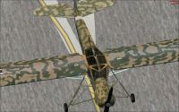 Screenshot of Fieseler Storch on the ground.