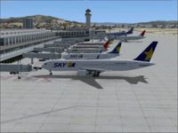 Screenshot of Fukuoka Airport.