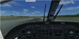 Virtual cockptit of Groupo Veneaviones' AC690 Turbo Commander.