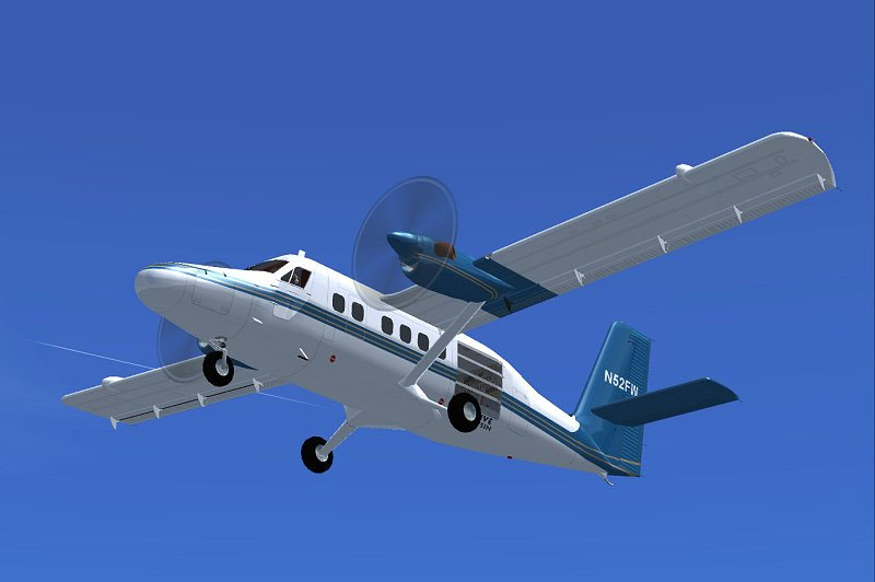 Kapowsin Air Sports Dehavilland Dhc6 100 For Fsx