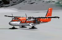 Screenshot of Kenn Borek DHC-6-300 Twin Otter on skis.