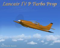 Screenshot of Lancair IV P Turboprop in flight.