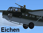 Screenshot of Eichen, Assault Glider in flight.